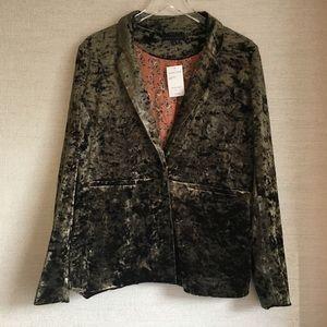 Sanctuary Clothing Crushed Velvet Blazer